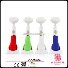 Waterproof and ultrasonic vibrating face brush Portable Sonic Cleansing Brush