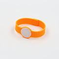 rfid open loop adjustable silicone wristband