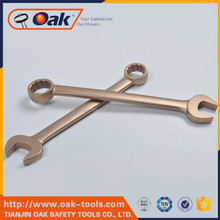non-magnetic wrench spanner combination ring spanner types of wrenches names made in China