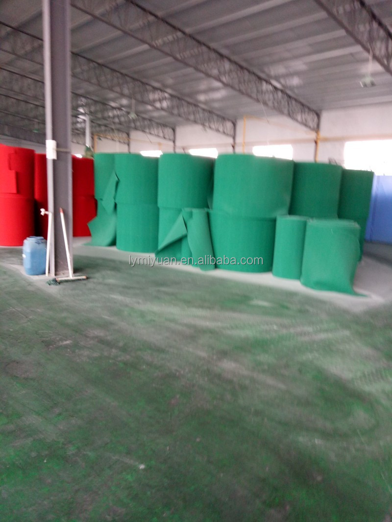 OEM Strong cleaning capacity square non-abrasive washing yarn for scouring pad rolls
