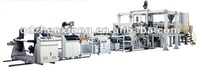 Single layer plastic pvc sheet extrusion line