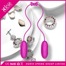 Cute sperm vibrator twin bullet for women pleasure sexual aids