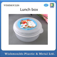 Plastic lunch box keep food hot in injection mold manufacturer