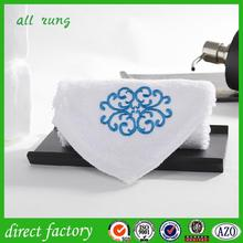 New design fancy border towel made in China