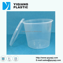 Eco friendly disposable clear plastic lunch boxes