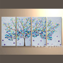 Wholesale Modern Wall Arts And Crafts Or Tree Handmade Oil Painting