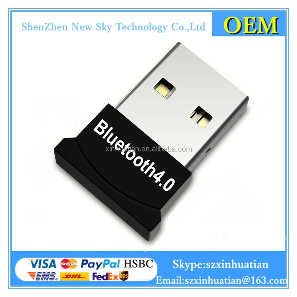 Factory OEM BCM20702 dongle 4.0 mini usb wireless audio bluetooth dongle adapter