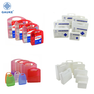 China manufacturer GAUKE supply empty first aid kit box case