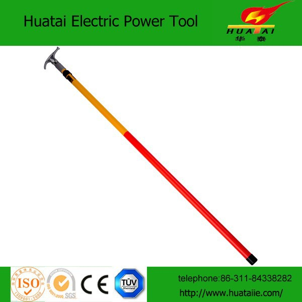 4 sections 9M High Voltage Telescopic Hot Stick