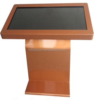 Touch screen LCD digital advertising kiosk