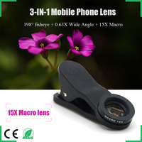 Shenzhen camera mobile lens for nokia iphone wide angle lens smartphone lens set/