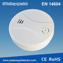 GSM wireless interconnectable RF smoke alarm
