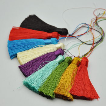 Fashion decoration cheap chinese knot tassel for sarees