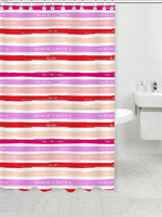 Waterproof and anti-mildew grommet shower curtain