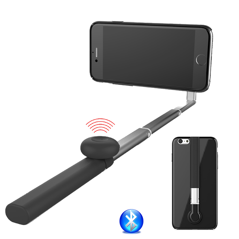 Bluetooth Selfie Stick Case Stand Phone Holder Support for Iphone 6 6s 4.7/ 5.5 plus Wireless Selfie Stick Monopod Cover Shell