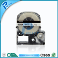 Compatible K-SUN label printer 12mm Black on White tapes