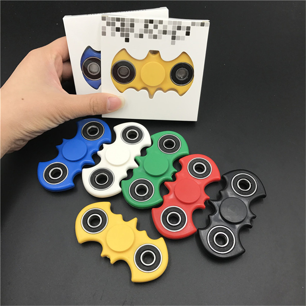 Creative Funny Various Design Tri-Spinner Fidget Cube Toy / finger spinner For Autism and ADHD Rotation