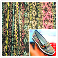 Colorful Sequin fabric embroidery fabric With EVA for shoes, Fabric with EVA
