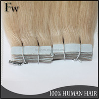 Factory hair wholesale top quality human hair last long 26 inches tape human hair extensions
