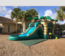 2017 rental inflatable combo with inflatable water slides in bouncy air hourse
