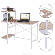Computer Desk W/3-Tier Book Shelf Home Office Furniture Laptop Writing Desk