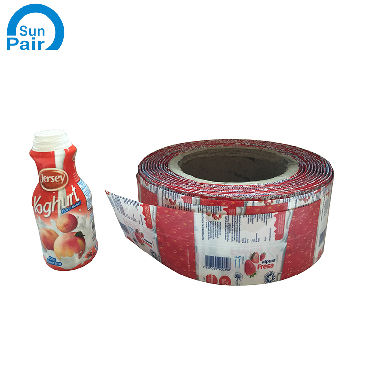 Reasonable Price Water Plastic Sleeve Heat Wrapping Bottles Pvc Shrink Label For Bottle Packaging