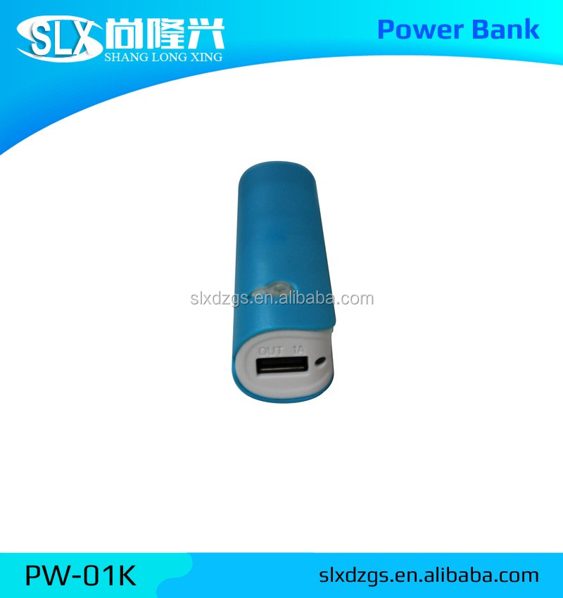 New Design Universal 2600mah Manual For Power Bank