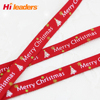 Printed Merry Christmas Ribbon Grosgrain Ribbon