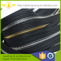zipper metal manufacture 3#,5# 8#,10# metal zip long chain