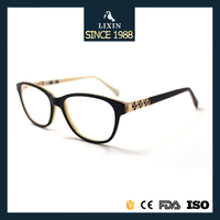 Luxury Acetate Eyewear Ladies Precious Glasses