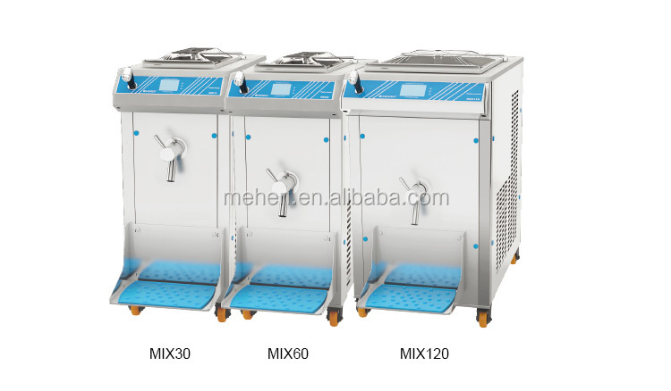 Hot sale movable water cooling mini milk pasteurizer machine with cheap price (30L, 60L, 120L)