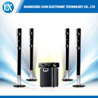 home theater speaker with bluetooth USB wireless mic