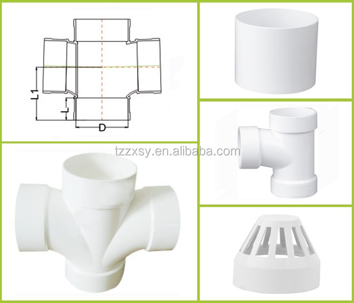 Construction Material PVC Vent Cap For Wasting Water Made in China
