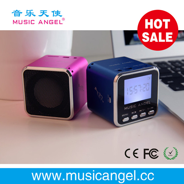 mini speaker with fm antenna free download clips free Music Angel JH-MD08