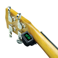 Durable JOYO JT-306 Mini LCD Digital Clip-on Tuner for Acoustic Electric Guitar Bass Violin Ukulele Guitar Parts & Accessories