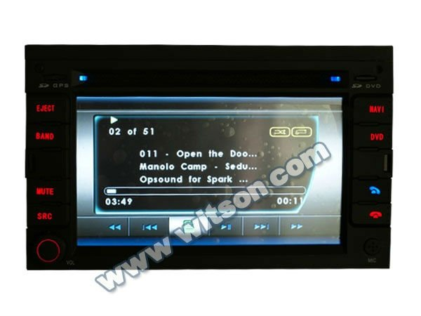 WITSON car stereo for peugeot 307