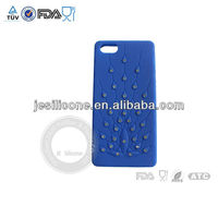 provides an improved grip for secure handling silicone cellphone case cover