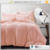 Good price bed micro fiber duvet cover sheet set solid color