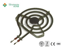 coil tube series cookpot parts of heating element
