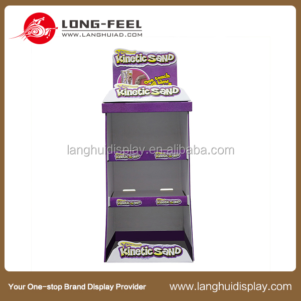 new products cardboard stacking cubes display