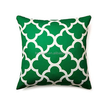 dark green printed design cushion cover wholesale