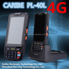 CARIBE PL-40L AY111 handheld barcode reader IP65 Rugged pda 4.0inch touch screen quad-core processor android