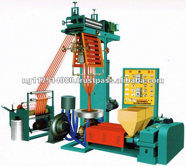 Double Colour Nylon / Film Blowing Machine