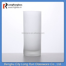 LongRun 260ml stemless heavy Base drinking water frosted glass cup