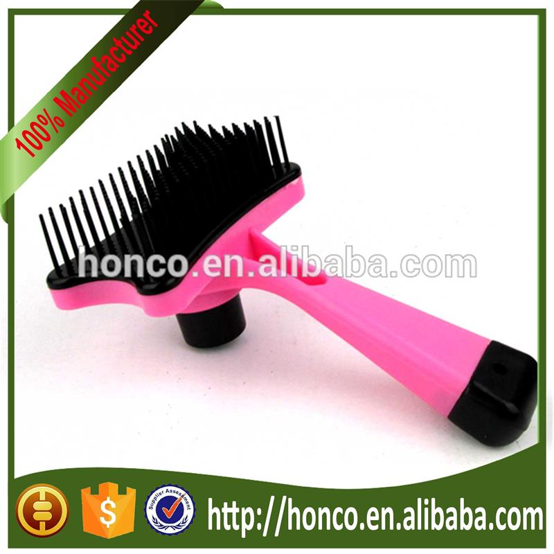 Easy clean out pet dead hair brush
