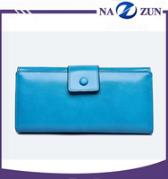 High Quality Leather Women Wallet Low Price Cash Parts Hand Ladies Purse