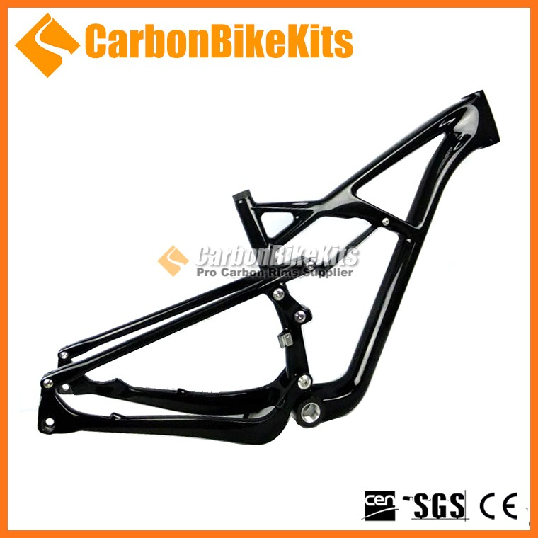 CBK high performance carbon mtb 29er full suspension frame for mountain bike