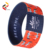 China Supplier Soft elastic wristband RFID Customized Chip Wristbands