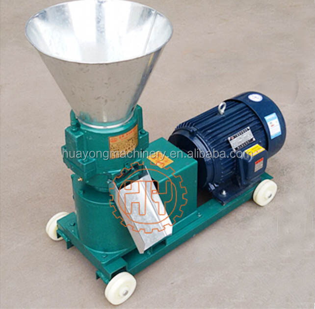 Simple home use Animal feed straw pellet machine
