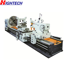 HRC52 Hardness Guideway CNC Horizontal Lathe Machine